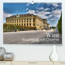 Wien – Haupstadt mit CharmeAT-Version (Premium, hochwertiger DIN A2 Wandkalender 2020, Kunstdruck in Hochglanz) von Bartruff,  Thomas