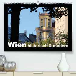 Wien – historisch und modern (Premium, hochwertiger DIN A2 Wandkalender 2021, Kunstdruck in Hochglanz) von Lacher,  Ingrid