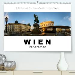 Wien Panoramen (Premium, hochwertiger DIN A2 Wandkalender 2021, Kunstdruck in Hochglanz) von Bartek,  Alexander