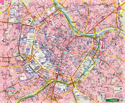 Wien, Stadtplan, 1:6.250, Poster