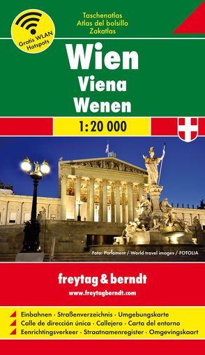 Wien, Taschenatlas 1:20.000, 15/13 Box