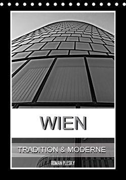 Wien, Tradition und Moderne (Tischkalender 2018 DIN A5 hoch) von Plesky,  Roman