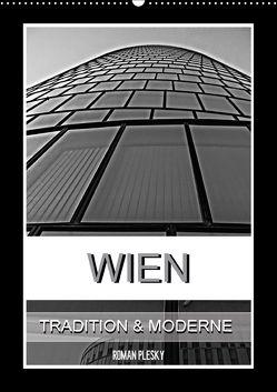 Wien, Tradition und Moderne (Wandkalender 2018 DIN A2 hoch) von Plesky,  Roman