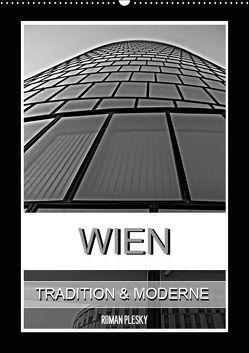 Wien, Tradition und Moderne (Wandkalender 2019 DIN A2 hoch) von Plesky,  Roman