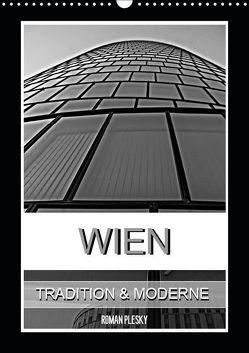Wien, Tradition und Moderne (Wandkalender 2019 DIN A3 hoch) von Plesky,  Roman