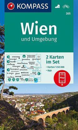 Wien und Umgebung von KOMPASS-Karten GmbH