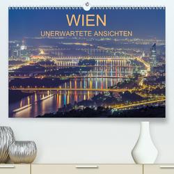 Wien – unerwartete Ansichten (Premium, hochwertiger DIN A2 Wandkalender 2021, Kunstdruck in Hochglanz) von Vlcek,  Gerhard