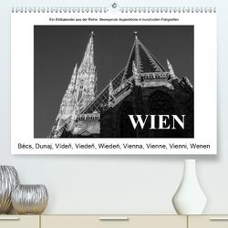 WienAT-Version (Premium, hochwertiger DIN A2 Wandkalender 2021, Kunstdruck in Hochglanz) von N.,  N.