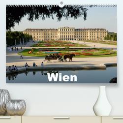 WienAT-Version (Premium, hochwertiger DIN A2 Wandkalender 2021, Kunstdruck in Hochglanz) von J. Strutz,  Rudolf