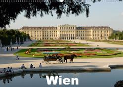 WienAT-Version (Wandkalender 2021 DIN A2 quer) von J. Strutz,  Rudolf