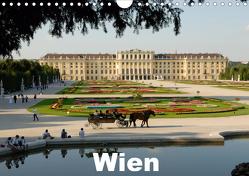 WienAT-Version (Wandkalender 2021 DIN A4 quer) von J. Strutz,  Rudolf