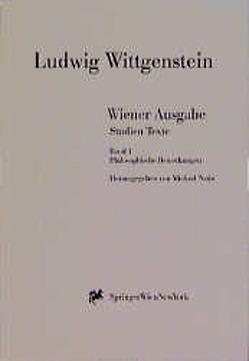 Wiener Ausgabe Studien Texte von Nedo,  Michael, Wittgenstein,  L.