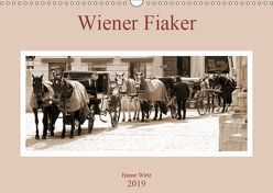 Wiener Fiaker (Wandkalender 2019 DIN A3 quer) von Wirtz,  Hanne