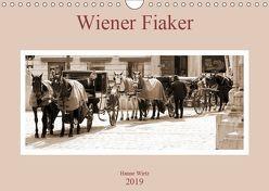 Wiener Fiaker (Wandkalender 2019 DIN A4 quer) von Wirtz,  Hanne