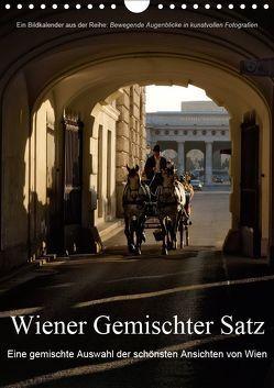 Wiener Gemischter SatzAT-Version (Wandkalender 2019 DIN A4 hoch) von Bartek,  Alexander