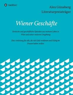 Wiener Geschäfte von Günsberg,  Alex