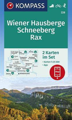 Wiener Hausberge, Schneeberg, Rax von KOMPASS-Karten GmbH