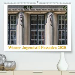 Wiener Jugendstil-Fassaden(Premium, hochwertiger DIN A2 Wandkalender 2020, Kunstdruck in Hochglanz) von Braun,  Werner
