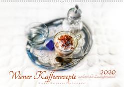 Wiener Kaffeerezepte (Premium, hochwertiger DIN A2 Wandkalender 2020, Kunstdruck in Hochglanz) von Hartmann,  Gregor
