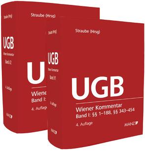 Wiener Kommentar zum Unternehmensgesetzbuch – UGB – Band I + Band II von Ratka,  Thomas, Rauter,  Roman Alexander, Straube,  Manfred