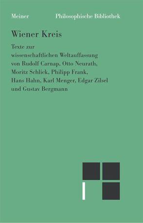 Wiener Kreis von Stöltzner,  Michael, Uebel,  Thomas
