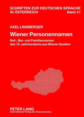 Wiener Personennamen von Linsberger,  Axel
