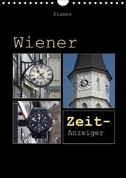 Wiener Zeit-Anzeiger (Wandkalender 2018 DIN A4 hoch) von Keller,  Angelika