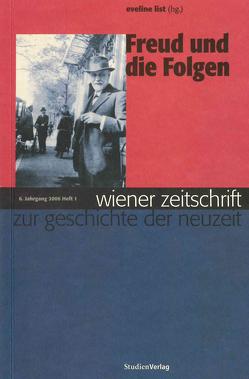 Wiener Zeitschrift zur Geschichte der Neuzeit 1/06 von List,  Eveline