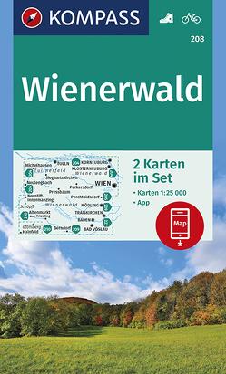 Wienerwald von KOMPASS-Karten GmbH
