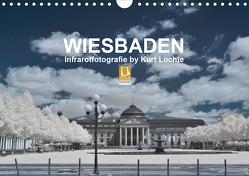 WIESBADEN – Infrarotfotografie by Kurt Lochte (Wandkalender 2021 DIN A4 quer) von Lochte,  Kurt