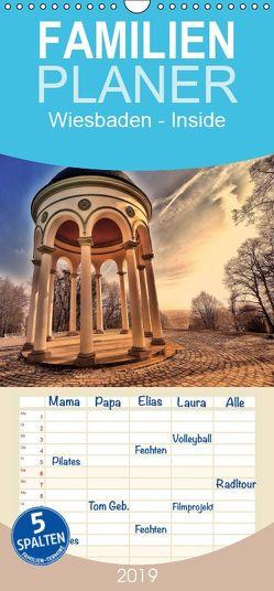 Wiesbaden – Inside – Familienplaner hoch (Wandkalender 2019 , 21 cm x 45 cm, hoch) von Eckerlin,  Claus