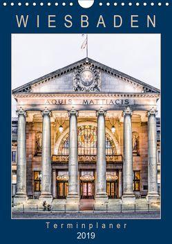 Wiesbaden Terminplaner (Wandkalender 2019 DIN A4 hoch) von Meyer,  Dieter