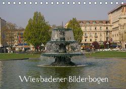 Wiesbadener Bilderbogen (Tischkalender 2019 DIN A5 quer) von Hinz,  Reinhard
