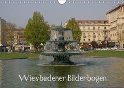 Wiesbadener Bilderbogen (Wandkalender 2018 DIN A4 quer) von Hinz,  Reinhard