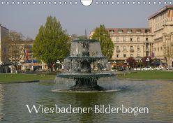 Wiesbadener Bilderbogen (Wandkalender 2019 DIN A4 quer) von Hinz,  Reinhard