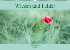 Wiesen und Felder (Wandkalender 2019 DIN A2 quer) von Gartler,  Marion