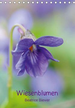 Wiesenblumen (Tischkalender 2019 DIN A5 hoch) von Biewer,  Beatrice