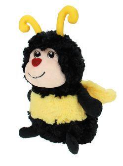 WIESENFREUNDE Kuscheltier Biene mit Glitzeraugen / Herzchennase