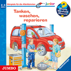 Wieso? Weshalb? Warum? junior. Tanken, waschen, reparieren von Heinecke,  Niklas, Nahrgang,  Frauke, Richter,  Vincent