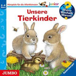 Wieso? Weshalb? Warum? junior. Unsere Tierkinder von Bareither,  Julia, Heinecke,  Niklas, Nahrgang,  Frauke