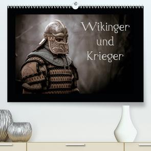 Wikinger und Krieger (Premium, hochwertiger DIN A2 Wandkalender 2021, Kunstdruck in Hochglanz) von Kunz,  Jochen