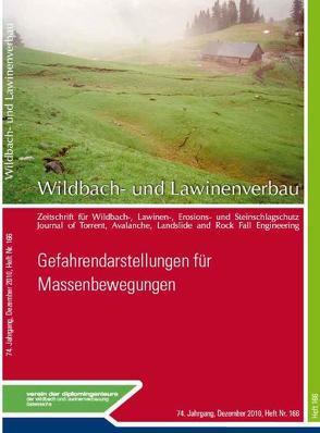 Wildbach- und Lawinenverbau Heft 166 Gefahrendarstellungen für Massenbewegungen