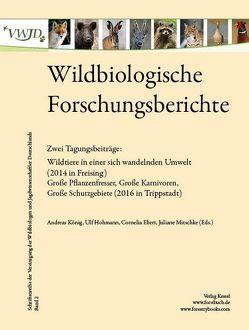 Wildbiologische Forschungsberichte Band 2 von Koenig,  Andreas