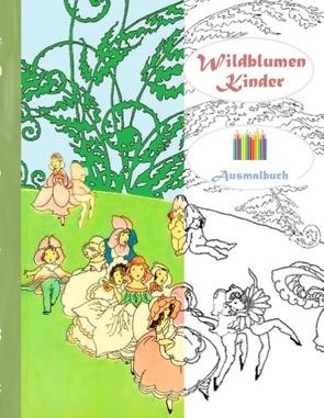 Wildblumen Kinder (Ausmalbuch) von Rose,  Luisa