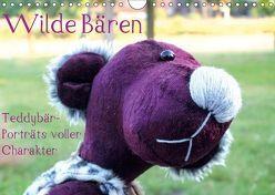 Wilde Bären – Teddybär-Porträts voller Charakter (Wandkalender 2019 DIN A4 quer) von Koepp (VauKa),  Verena