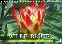 Wilde Blüten: Wildblumen aus aller Welt (Tischkalender 2018 DIN A5 quer) von CALVENDO,  k.A.