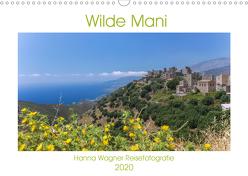 WIlde Mani (Wandkalender 2020 DIN A3 quer) von Wagner,  Hanna