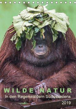 Wilde Natur – In den Regenwäldern Südostasiens (Tischkalender 2019 DIN A5 hoch) von Gärtner,  Oliver
