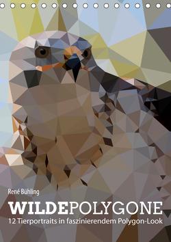 Wilde Polygone (Tischkalender 2021 DIN A5 hoch) von Bühling,  René