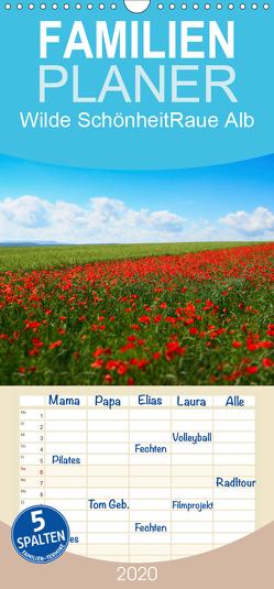 Wilde Schönheit – Raue Alb – Familienplaner hoch (Wandkalender 2020 , 21 cm x 45 cm, hoch) von Krisma
